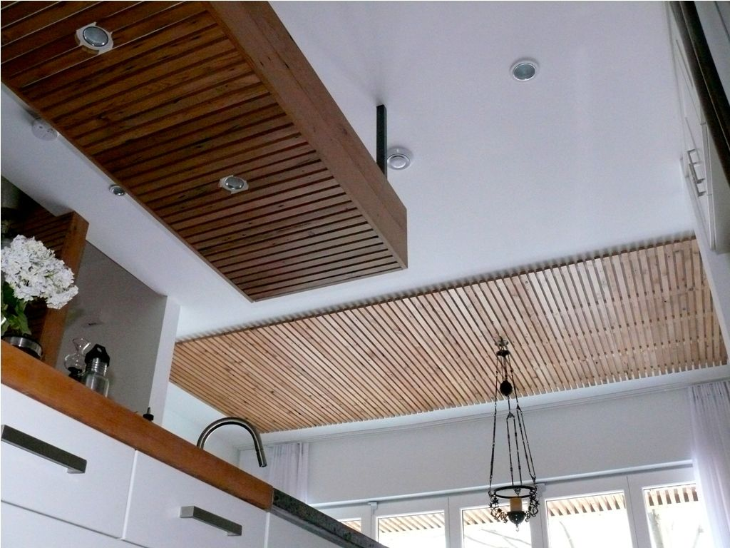 Modern Wood Ceiling Planks | Store Decor | Pinterest ...