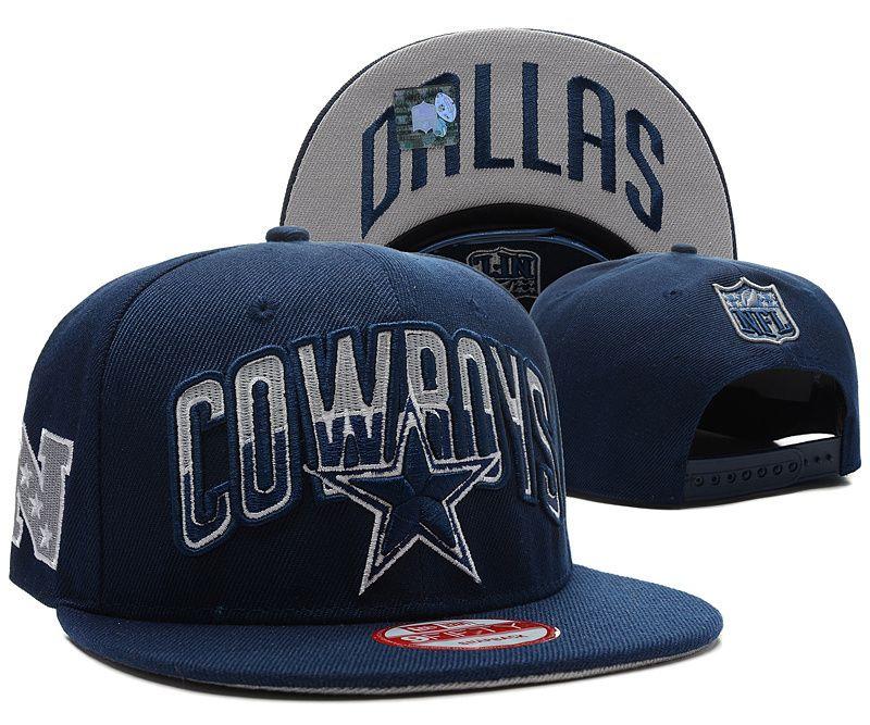 Black dallas cowboys snapback hats adjustable caps