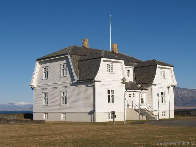 Reykjavik In dit gebouw werd het einde van de koude oorlog ondertekent. 1986