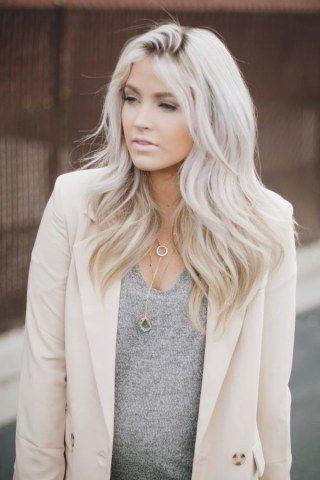 Haarfarben platinblond
