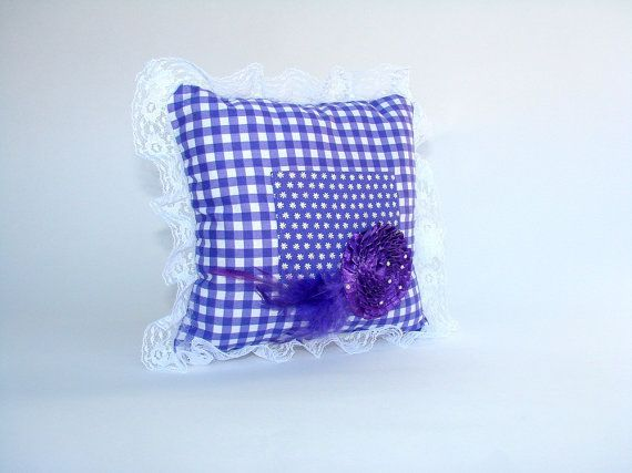 Baby Lace Trimmed Tooth Fairy Pillow Keepsakes & Baby Announcements