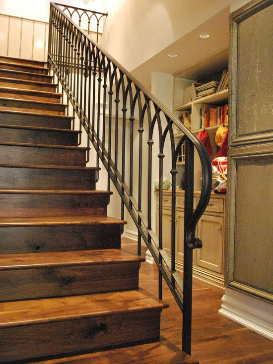 Wrought Iron Stair Design Pictures Remodel Decor And Ideas