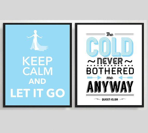 Cálmate y Suéltalo / El frío a mí nunca me molestó #Frozen