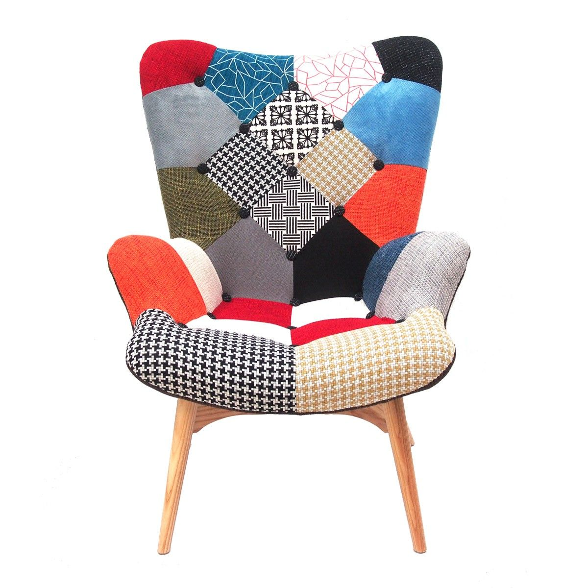 Replica Grant Featherston Patchwork Contour Chair