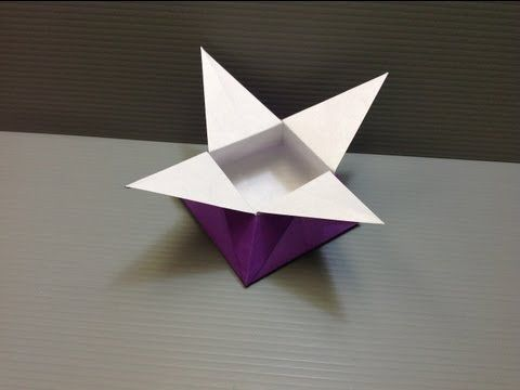 Daily Origami 927 Star Box Youtube Lee Pinterest Origami