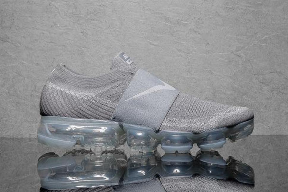1fd49f76994b ... Upcoming Nike Air VaporMax Laceless in Grey - EU Kicks Sneaker Magazine Nike  iD Laceless Vapormax