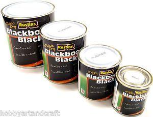 Black Board Paint School Blackboard Paint Chalk Board Paint Matt Black 4 Sizes