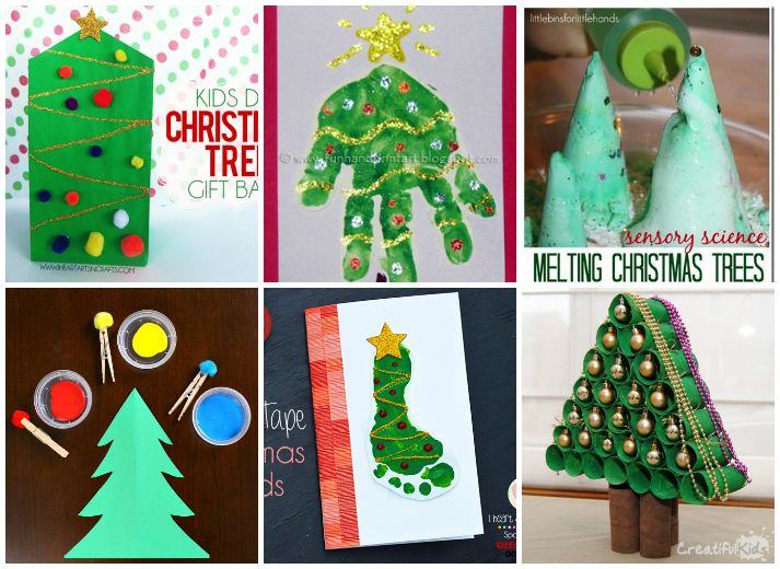 Creative Christmas Tree Crafts And Activities For Kids I Heart Arts N Crafts Preschool Christmas Crafts Christmas Tree Crafts Tree Crafts