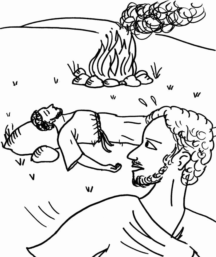 Cain And Abel Coloring Page Best Of 65 Best Images About Cain Et Abel On Pinterest In 2020 Cain And Abel Coloring Pages Family Coloring Pages