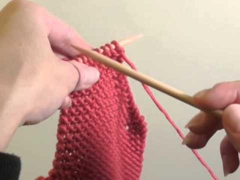 faire des emmanchures au tricot