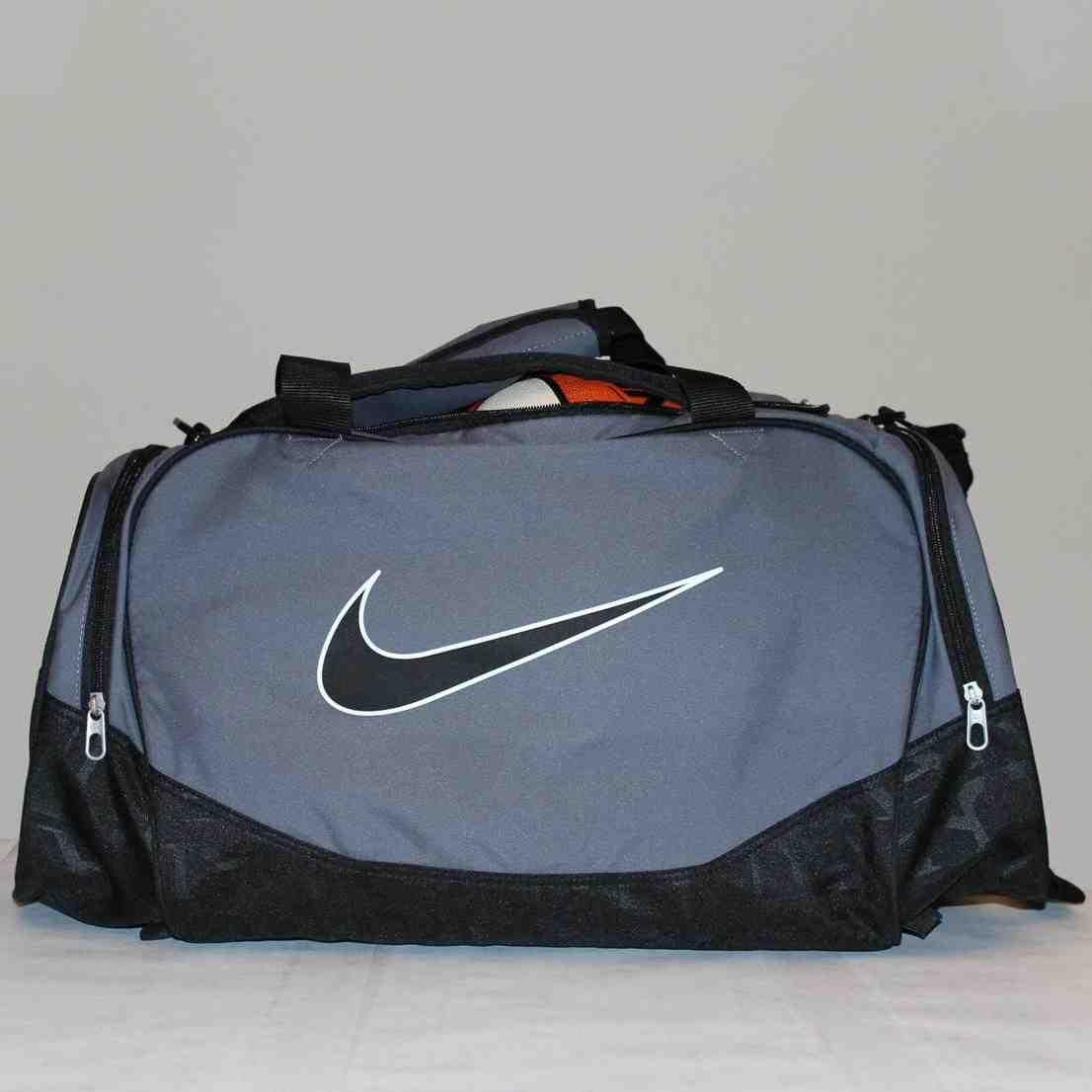 a1e4b3b6b44 ... Bling Nike Brasilia Gym Bag with Swarovski Crystal Bedazzled Etsy   super quality 89b64 eacb2 Nike Elite Basketball Duffle Bag ...