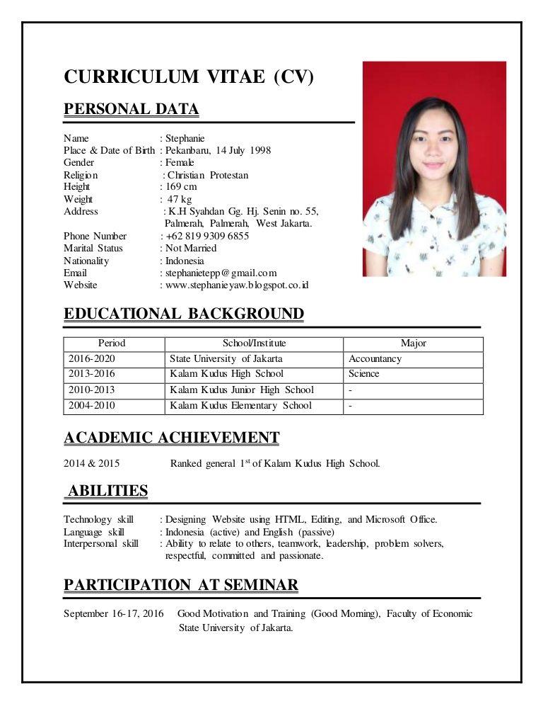 Download Template Cv Indonesia : download, template, indonesia, Creditcards1.net, -&nbspcreditcards1, Resources, Information., Curriculum, Vitae, Template, Free,, Vitae,