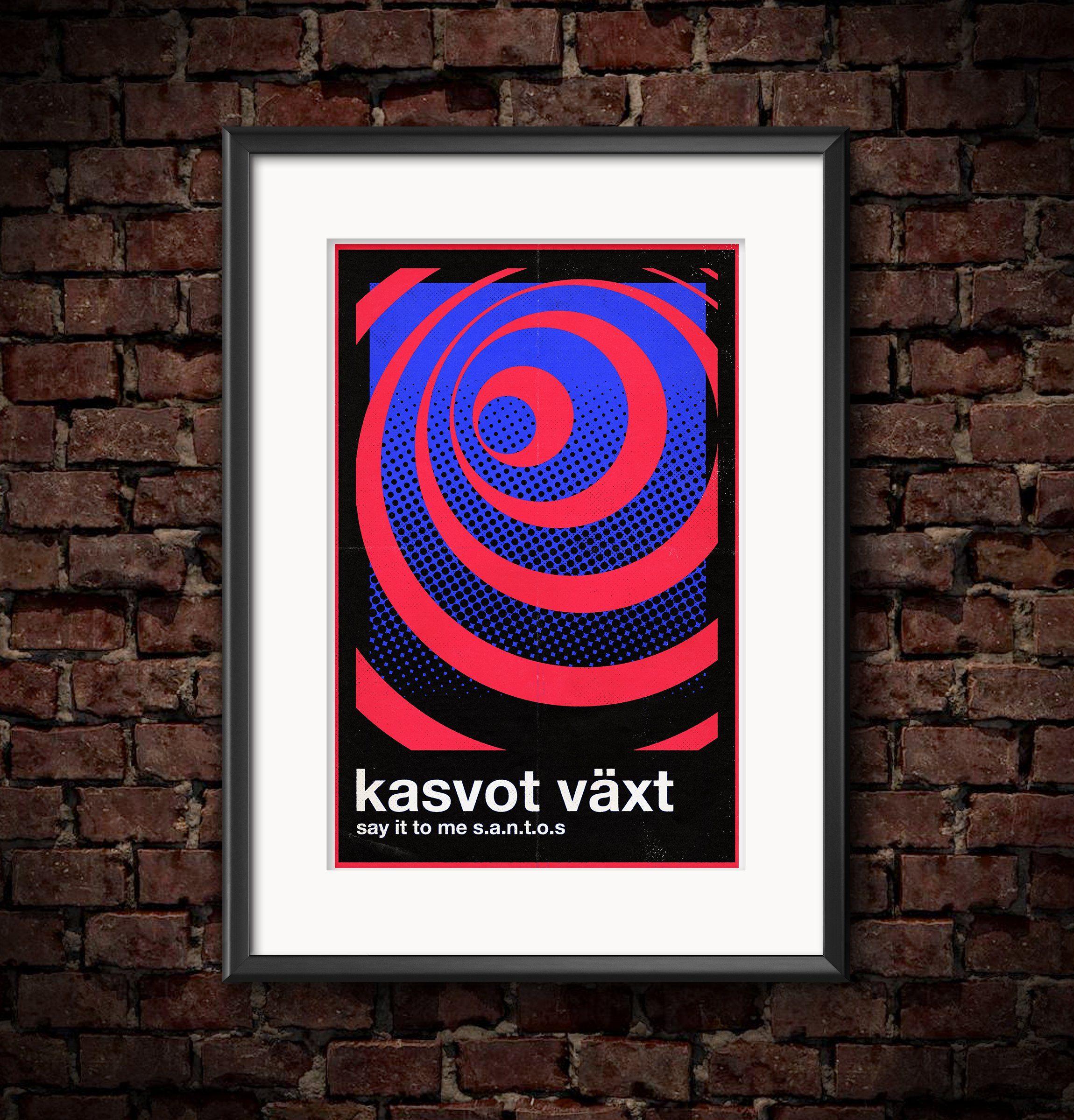 """Kasvot Växt"" 11""x17"" Poster"