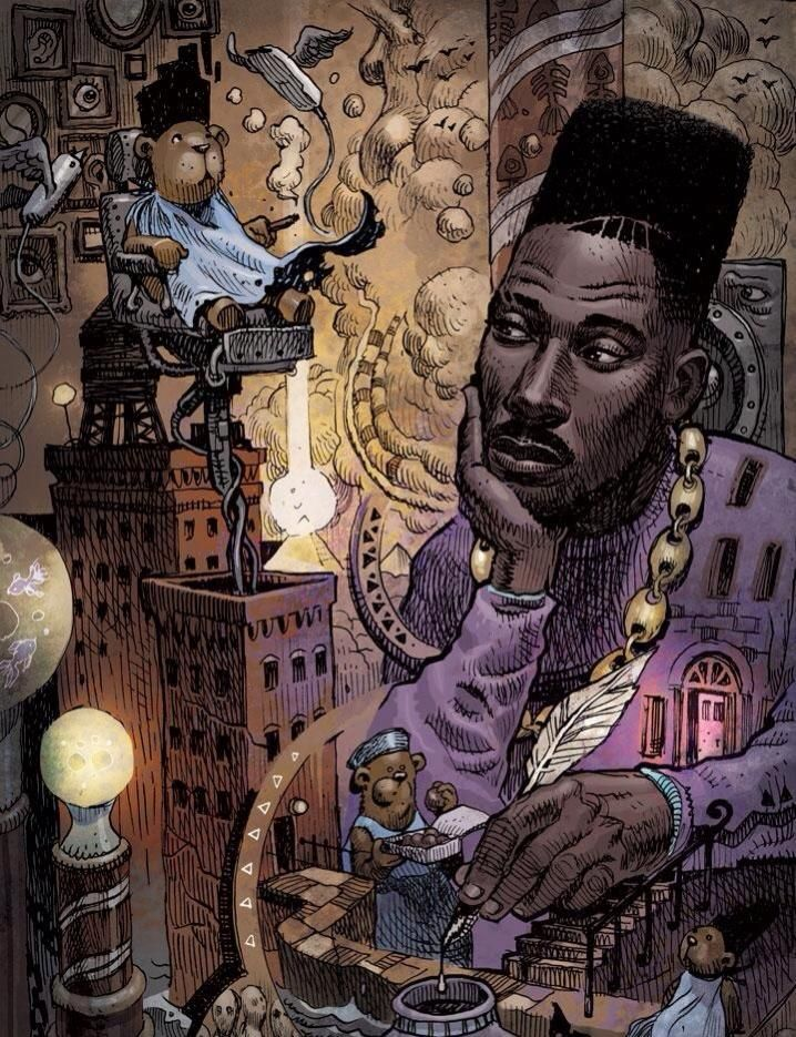 Big Daddy Kane Hip Hop Art African American Art Hip Hop Artwork