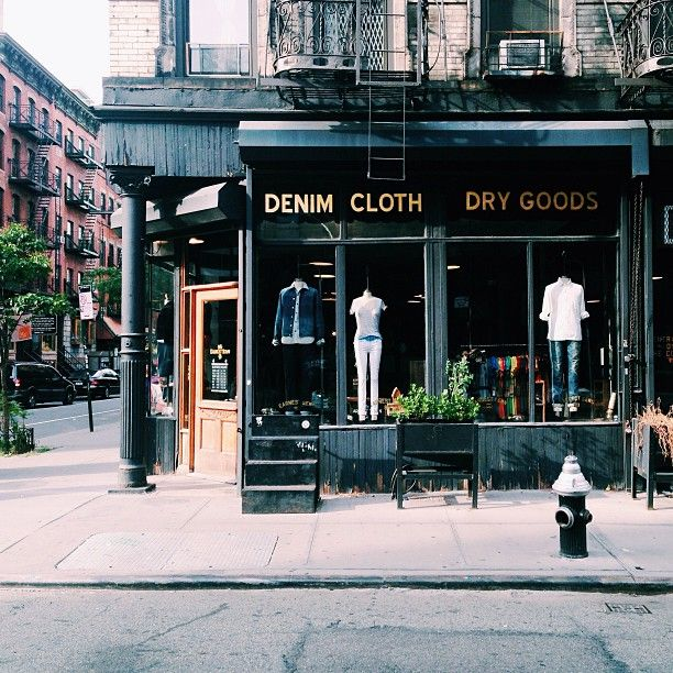 The Earnest Sewn Co. | New York -★-