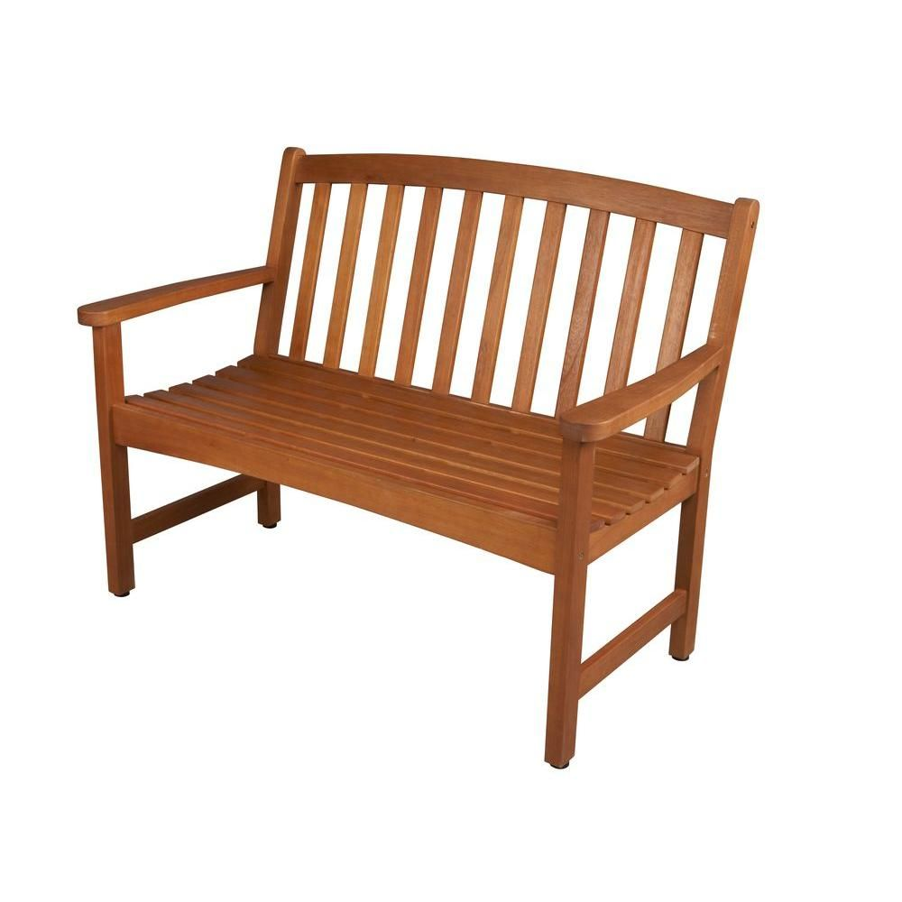 Bay outdoor furniture for your patio and garden hampton bay outdoor - Hampton Bay Harris Grove Patio Bench Is Comfortable And Easy To Use Ideal For Your Garden Offers Everlasting Durability And Reliability