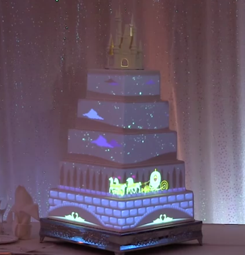 We came across this video of an amazing cake that debuted at ...