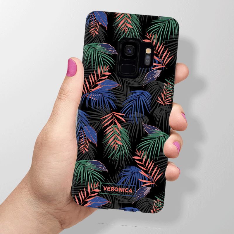 Palm Tree Pattern Samsung Galaxy S9 Case Boost Mobile Phone Samsung Phone