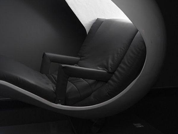 le fauteuil energypod est optimisé pour les siestes au bureau, Mobel ideea