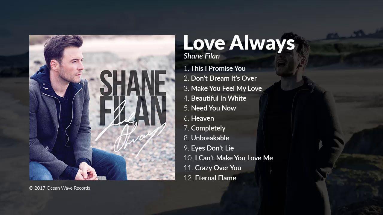 Shane Filan - Love Always (Full Album) - YouTube | Music