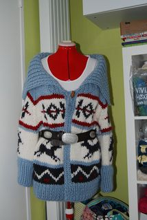 Cowichan Vision Wrap Coat by Nicky Epstein from Knitting On Top of the World