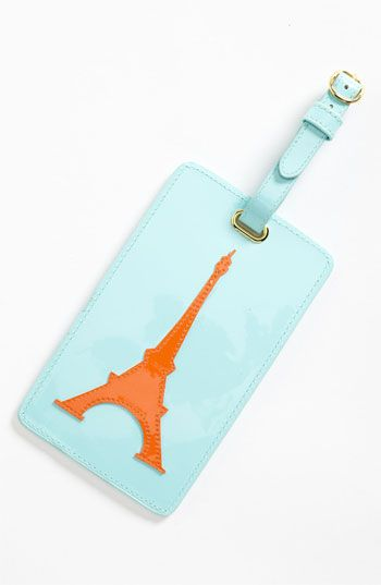 Lolo 'Eiffel Tower' Luggage Tag available at #Nordstrom $24. *Brie :)