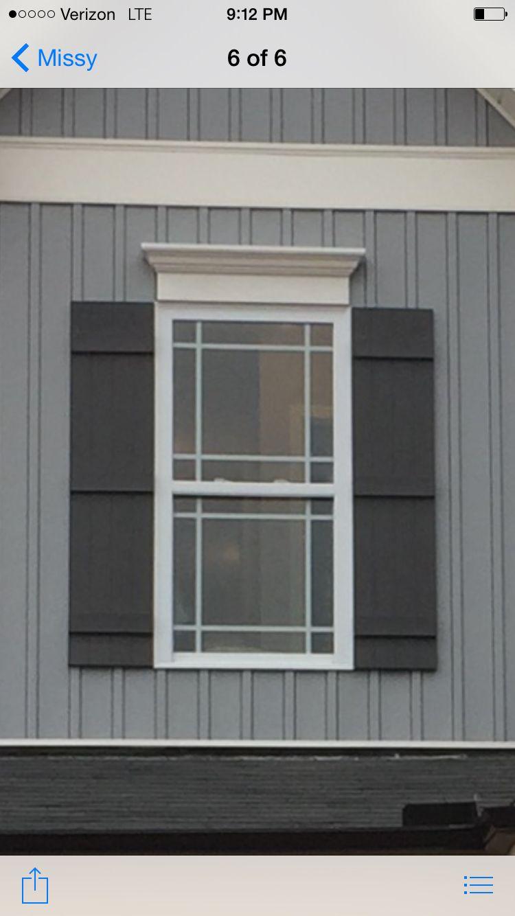 Prairie On Prairie Windows And Craftsman Shutters Our Windows Windows Exterior Window Grids Building A House