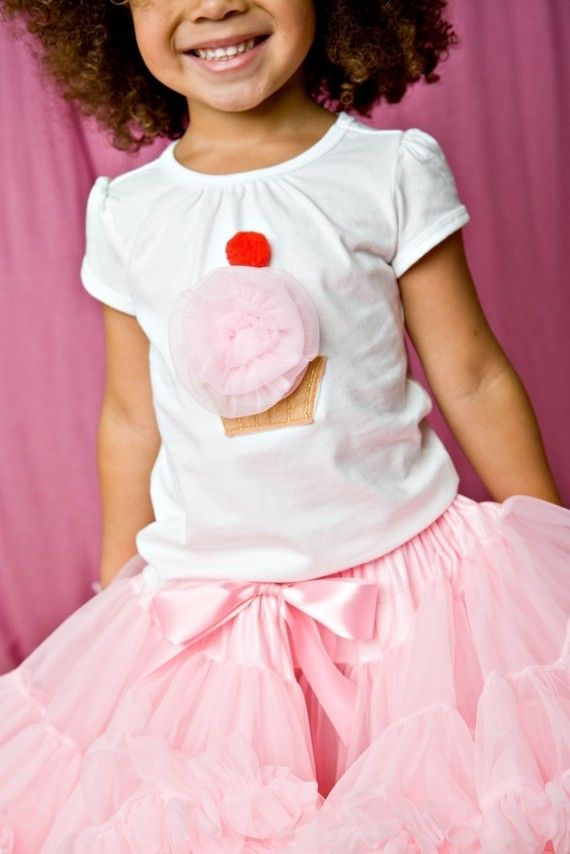 Cupcake Shirt - replace cherry with 1