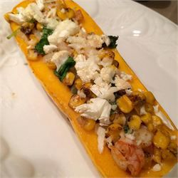 Shrimp Stuffed Delicata Squash - Allrecipes.com