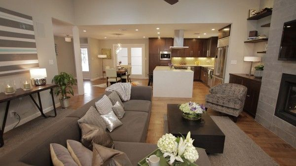 Dan & Brittany's living room, from the Property Brothers ...