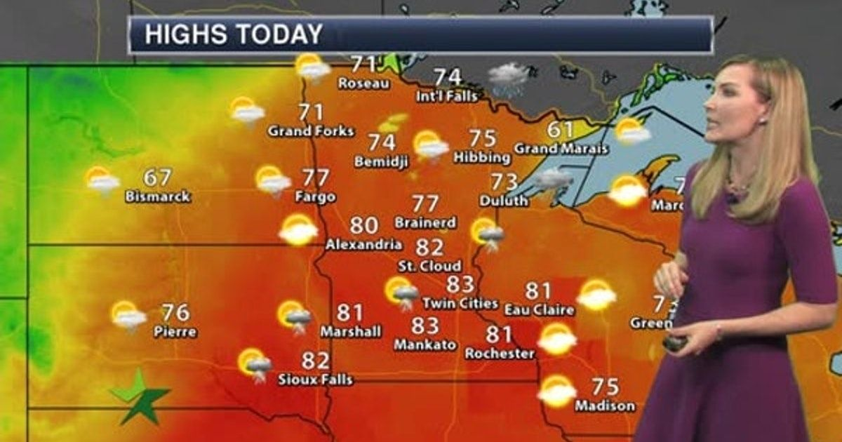 Twin cities hits 84 degrees the warmest in seven months