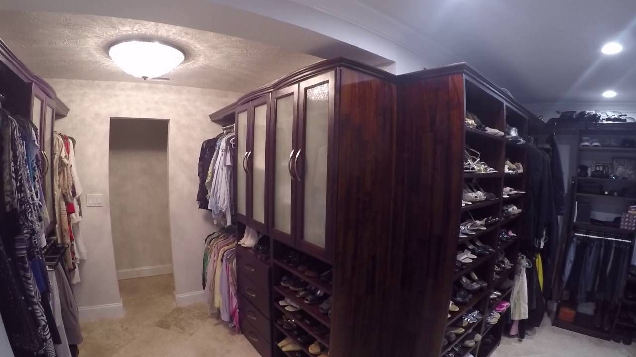 Closet System Installed By One Of Our Customers. The Closet Organizers  Features Doors, Drawers, Shoe Shelves, Pants Rack, Hampers And Many Other  Closet ...