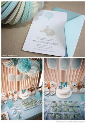 Elephant theme is so cute!