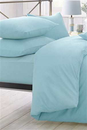 Cool Cotton Bed Set (Teal)