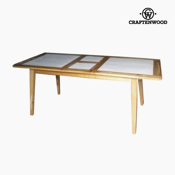 406,60 € Tavolo Allungabile Legno di mindi (160 x 90 x 78