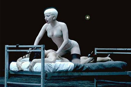 """lady gaga sex video Mar 2010  The Night Lady Gaga Blew Up the Internet with 'Telephone'  And I do wonder  why the video is sort of like way more than just a tribute to Tarantino  Natasha:  How do the """"Sex"""" and """"Telephone"""" compare in terms of visuals?."""