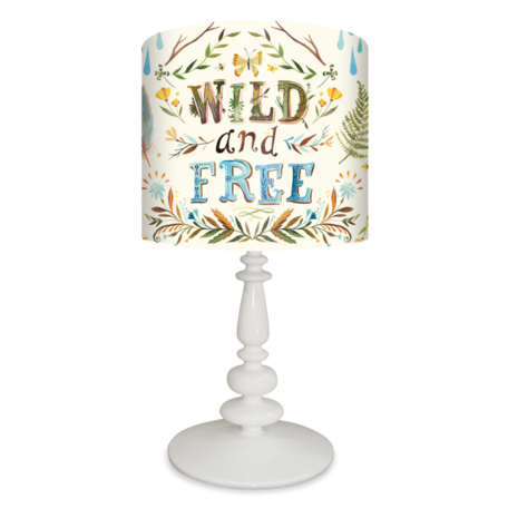 Wild and free kids lamp by oopsy daisy artist katie daisy 138