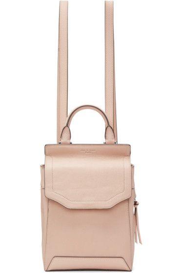 Rag & Bone - Pink Small Pilot II Backpack