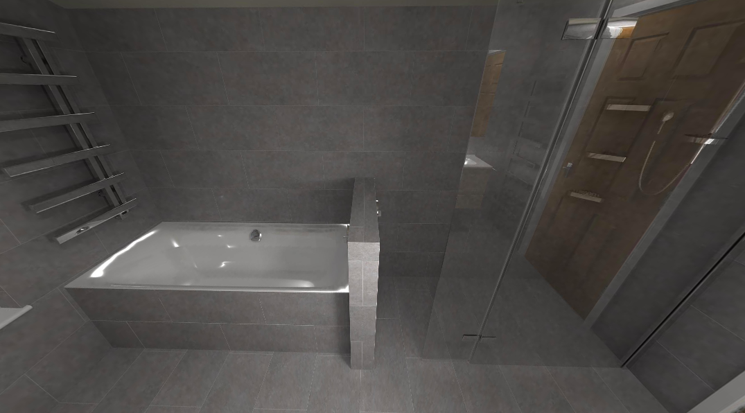 Grey Bathroom Click To View The Entire Bathroom Design Https