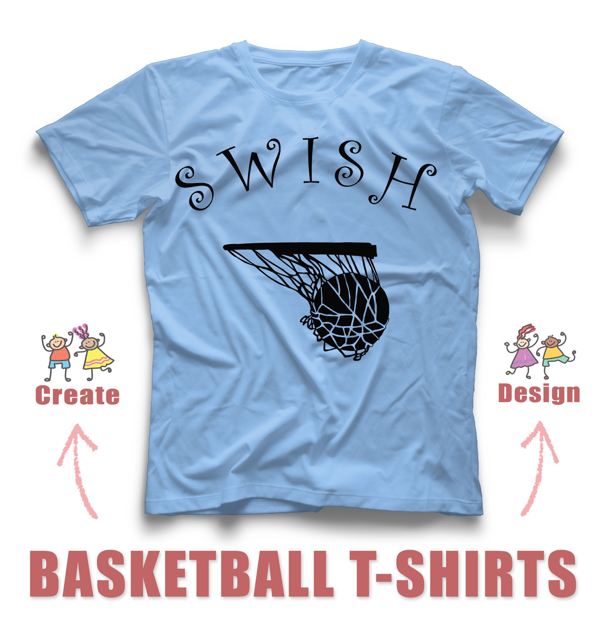 Basketball Custom T Shirt Design Idea Create Online For Free With