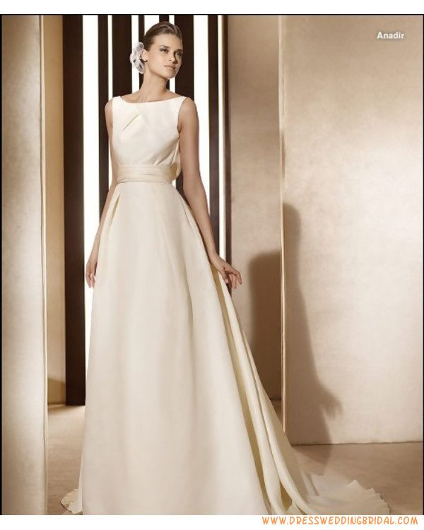 wedding dress boatneck - Google Search | Bridesmaid/wedding dress ...