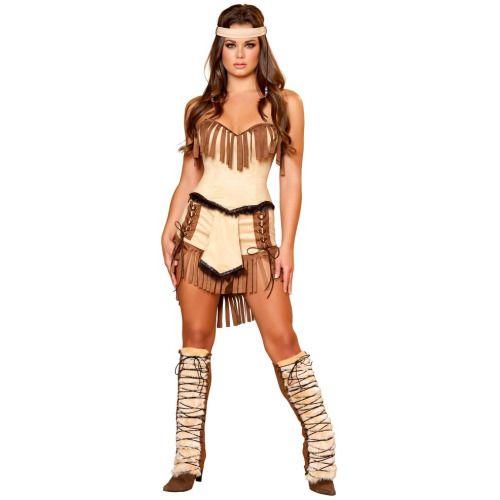 Women's Sexy Cherokee Indian Costume