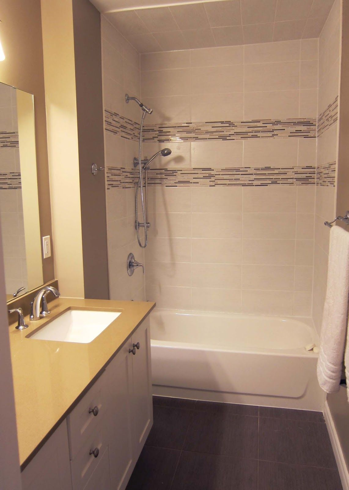 Rectangle Tile Shower Stall Designs | To accomodate teeth ...