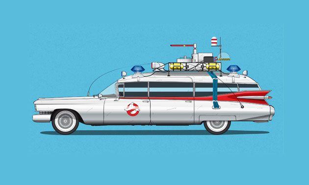 Famous Movie Cars by Jesus Prudencio • Highsnobiety