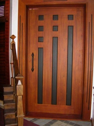 Doors Medium And Ideas: [Like: The Warm Amber, Medium Tone Of The Stain; The