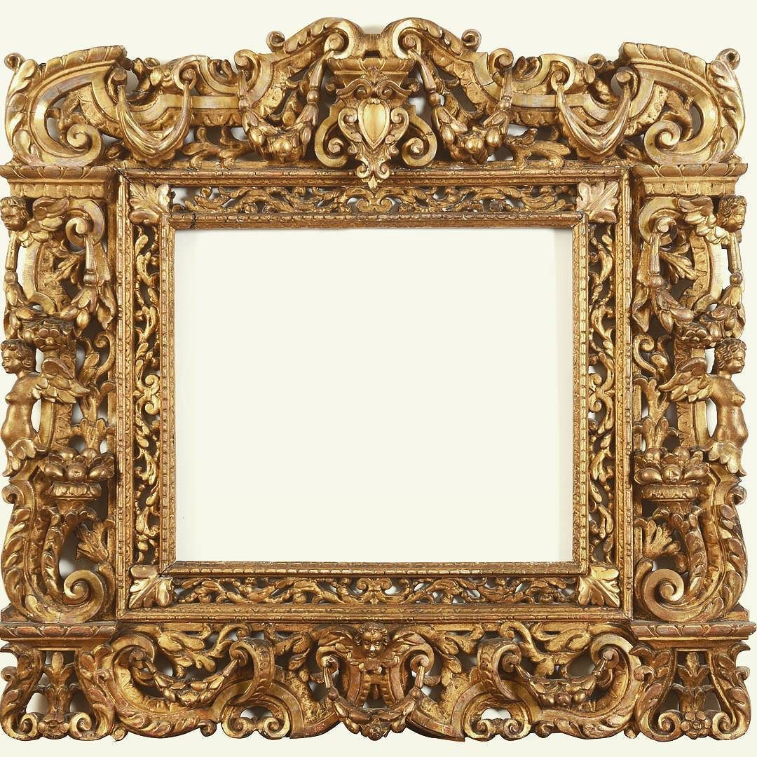 Richly Carved 16th Century Sansovino Frame Being Auctioned In Somerset Very Soon To All Frame Lovers Antique Picture Frames Royal Frame Vintage Picture Frames