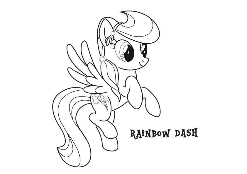 Disegni Da Colorare Di My Little Pony L Amicizia è Magica