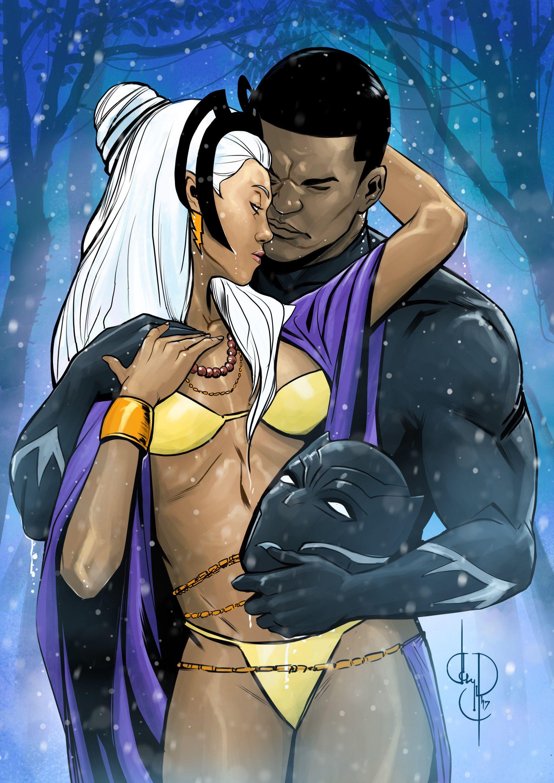 Artstation Storm And Black Panther Madibek Musabekov
