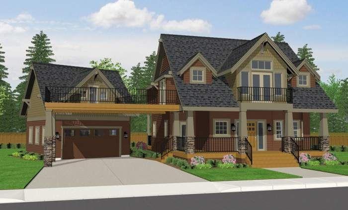 Modelos De Fachadas Clasicas Y Tradicionales Todo Fachadas Craftsman Bungalow House Plans Bungalow House Plans Cottage House Plans