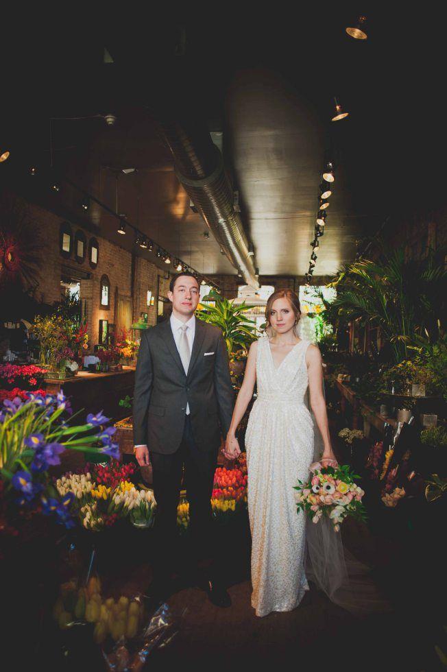 flower shop wedding | A New Leaf Chicago
